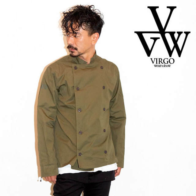 VIRGO ヴァルゴ バルゴ CLASSIC W-BUTTON SHIRTS 【2019 LATE FALL&WINTER先行予約】 【VG-SH-210】【キャンセル不可】【シャツ】