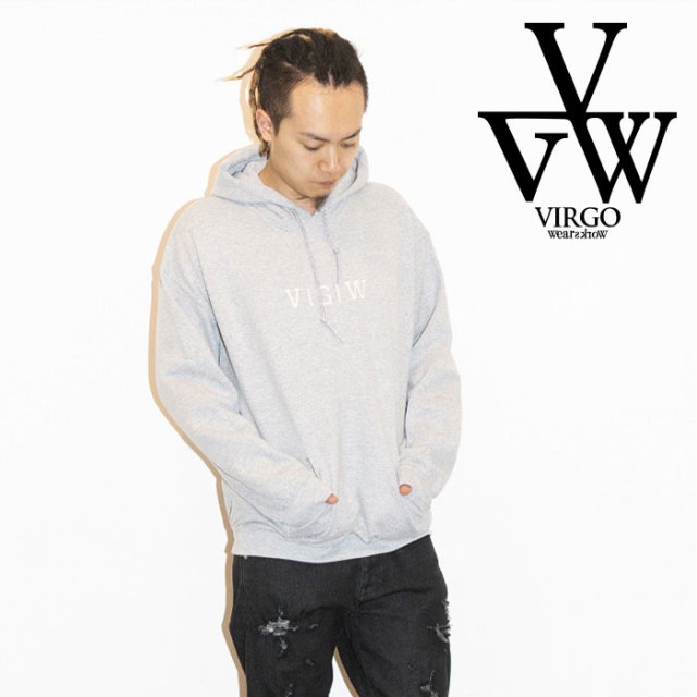 VIRGO ヴァルゴ バルゴ VGW SOLID HOODIES 【2019 LATE FALL&WINTER新作】 【VG-SWT-121】【送料無料】【パーカー】