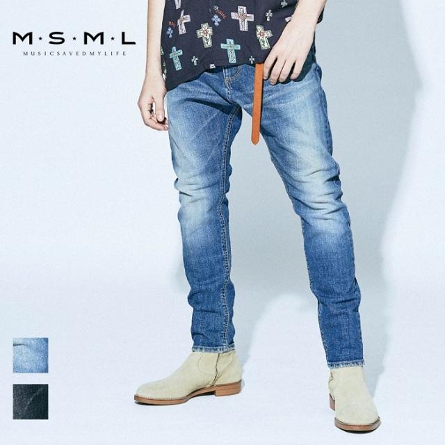 MSML/SARROUEL SKINNY DENIM PANTS/M11-02A1-PL02