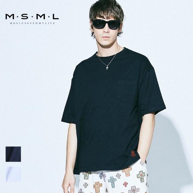 MSML/EMBROIDERY BIG TEE/M11-02A1-TS01