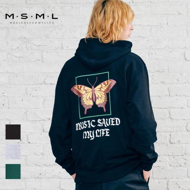 【取り寄せ対応】 MSML OVERSIZED BATTERFLY GRAPHIC HOODIE M11-02A5-CL02 21AW T$UYO$HI パーカー フーディ トップス スウェット