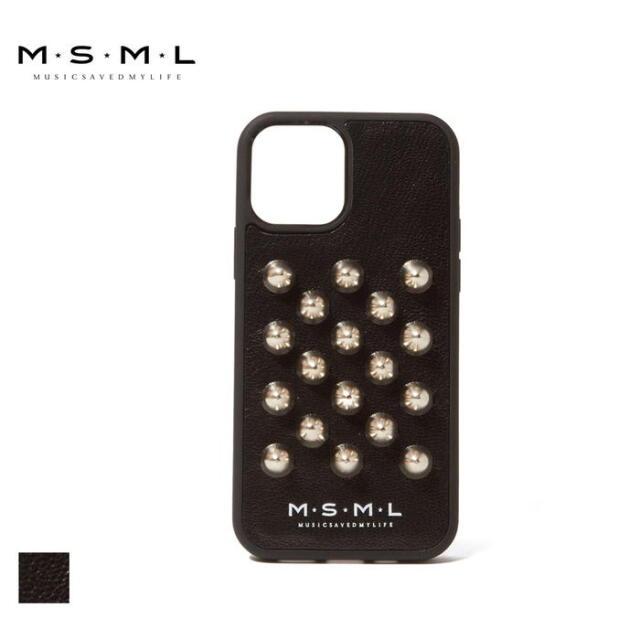 【取り寄せ対応】 MSML STUDS iphone CASE M1A1-AC02 21AW T$UYO$HI iPhoneケース スマホケース iPhone12 iPhone12pro スタッズ アク