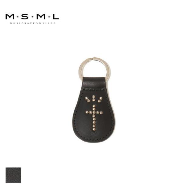【取り寄せ対応】 MSML MSML KEY RING M1A1-AC03 21AW T$UYO$HI キーリング キーホルダー スタッズ ロゴ アクセサリー カジュアル フ