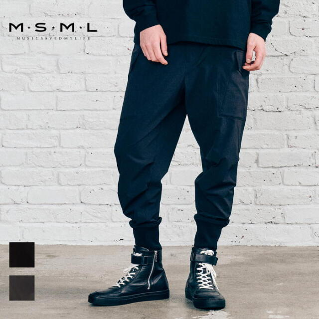 【先行予約】 MSML NYLON WIDE CARGO PANTS M21-02A5-PL02 21AW KATSUMA カーゴパンツ ナイロン パンツ カジュアル ファッション ブ