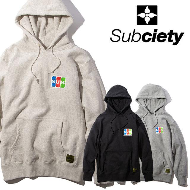 SUBCIETY(サブサエティ) PARKA-mint- 【2019AUTUMN/WINTER先行予約】 【キャンセル不可】【101-31443】【パーカー】