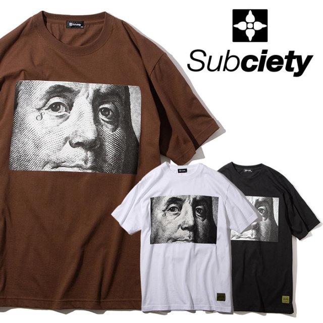 SUBCIETY(サブサエティ) BigB S/S 【2019AUTUMN/WINTER先行予約】 【キャンセル不可】【101-40468】【Tシャツ】