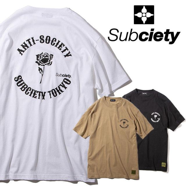 SUBCIETY(サブサエティ) elements S/S 【2019AUTUMN/WINTER先行予約】 【キャンセル不可】【101-40469】【Tシャツ】