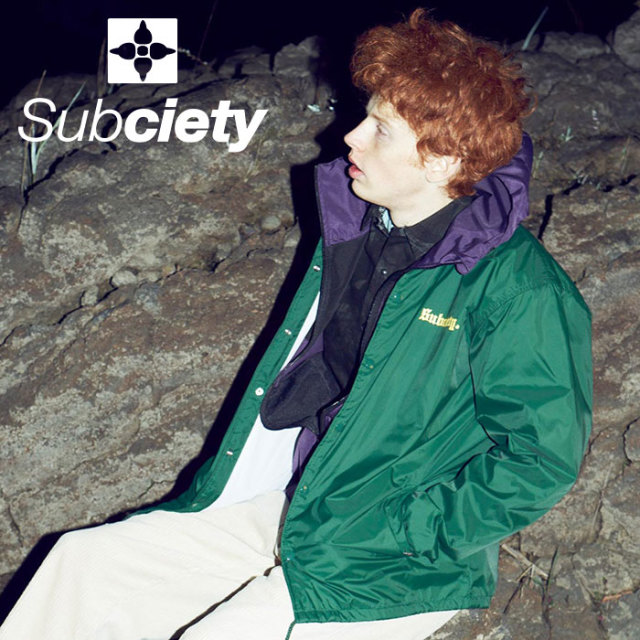 SUBCIETY(サブサエティ) COACH JACKET-STING- 【2019AUTUMN/WINTER先行予約】 【キャンセル不可】【101-60431】【ジャケット】