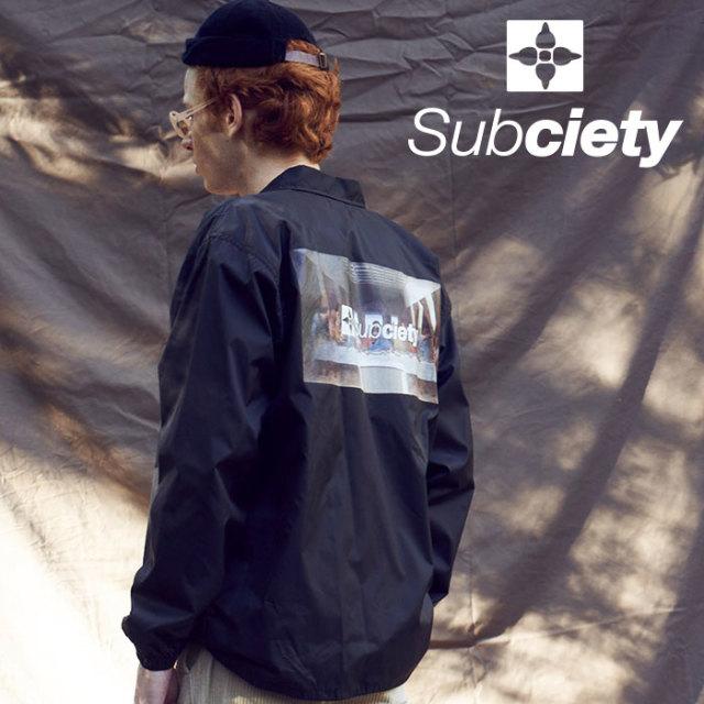 SUBCIETY(サブサエティ) COACH JACKET-Thursday- 【2019AUTUMN/WINTER先行予約】 【キャンセル不可】【101-60432】【ジャケット】