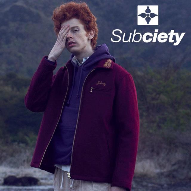 SUBCIETY(サブサエティ) SPORT JACKET 【2019AUTUMN/WINTER先行予約】 【キャンセル不可】【101-60436】【ジャケット】