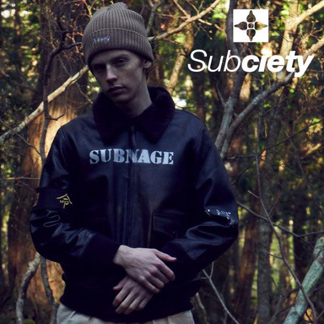 SUBCIETY(サブサエティ) G-1 with HOUSTON 【2019AUTUMN/WINTER先行予約】 【キャンセル不可】【101-60440】【ジャケット】