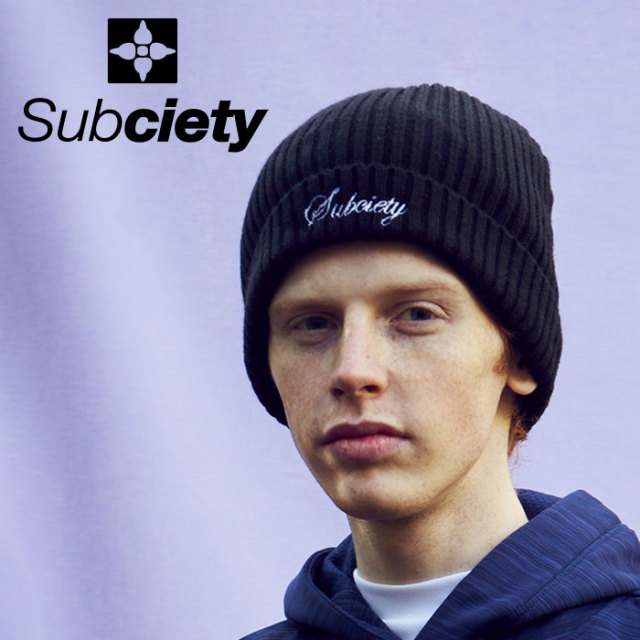 SUBCIETY(サブサエティ) BEANIE-THE BIRTH- 【2019AUTUMN/WINTER先行予約】 【キャンセル不可】【101-86475】【ニット帽】