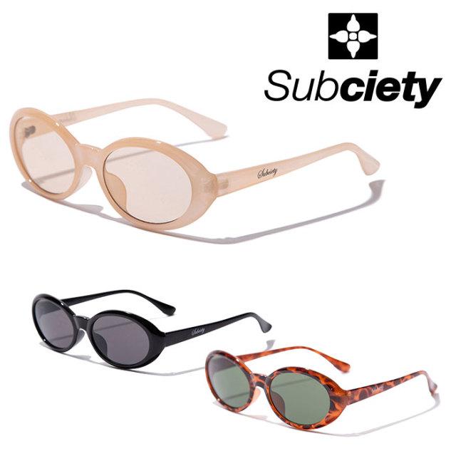 SUBCIETY(サブサエティ) SUNGLASS-spit- 【2019AUTUMN/WINTER先行予約】 【キャンセル不可】【101-87478】【サングラス】