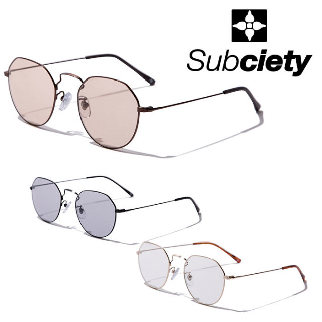 SUBCIETY(サブサエティ) SUNGLASS-apnea- 【2019AUTUMN/WINTER先行予約】 【キャンセル不可】【101-87479】【サングラス】