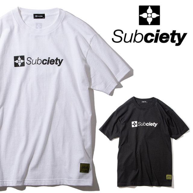 SUBCIETY(サブサエティ) THE BASE S/S 【2019AUTUMN/WINTER先行予約】 【キャンセル不可】【105-40037】【Tシャツ】