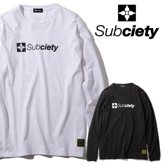 SUBCIETY(サブサエティ) THE BASE L/S 【2019AUTUMN/WINTER先行予約】 【キャンセル不可】【105-44019】【ロングスリーブTシャツ