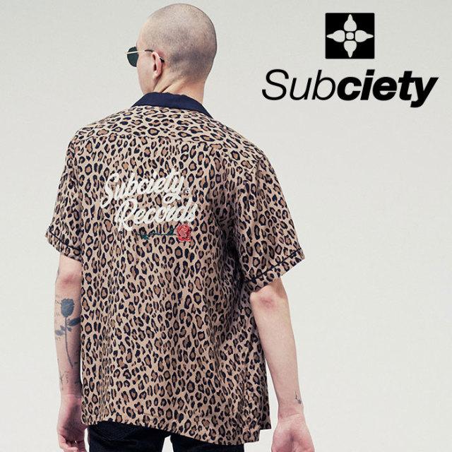SUBCIETY(サブサエティ) BOWLING SHIRT-VINYL- 【2019SUMMER先行予約】 【キャンセル不可】【109-22398】【シャツ】