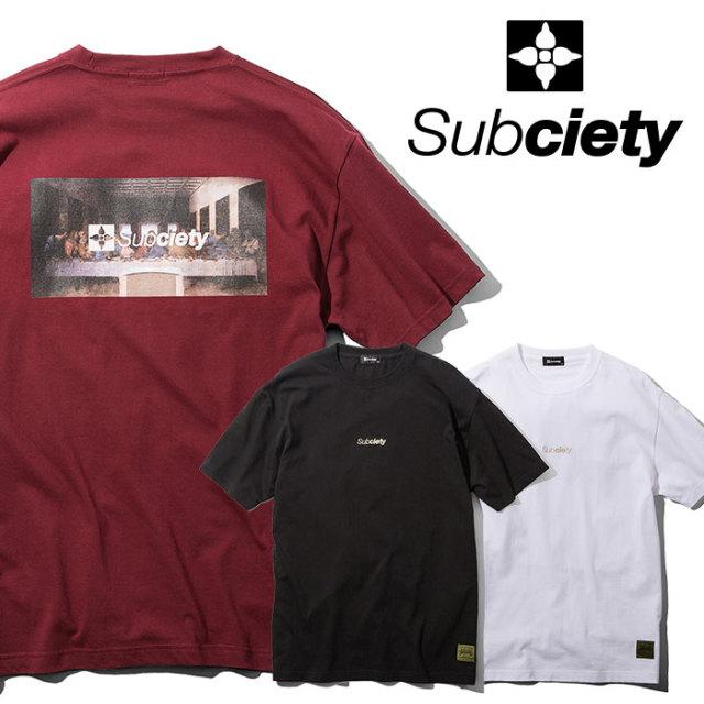 SUBCIETY(サブサエティ) Thursday S/S 【2019SUMMER新作】 【109-40402】【Tシャツ】