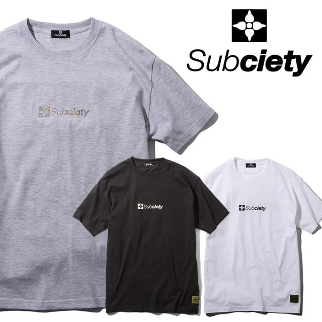 SUBCIETY(サブサエティ) HOLOGRAM THE BASE S/S 【2019SUMMER先行予約】 【キャンセル不可】【109-40403】【Tシャツ】