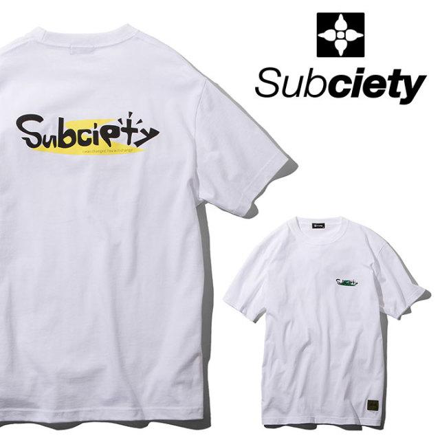SUBCIETY(サブサエティ) Changed S/S 【2019SUMMER先行予約】 【キャンセル不可】【109-40406】【Tシャツ】