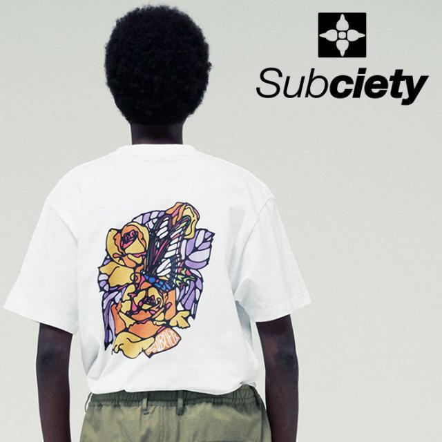 SUBCIETY(サブサエティ) Swallowtail S/S 【2019SUMMER先行予約】 【キャンセル不可】【109-40407】【Tシャツ】