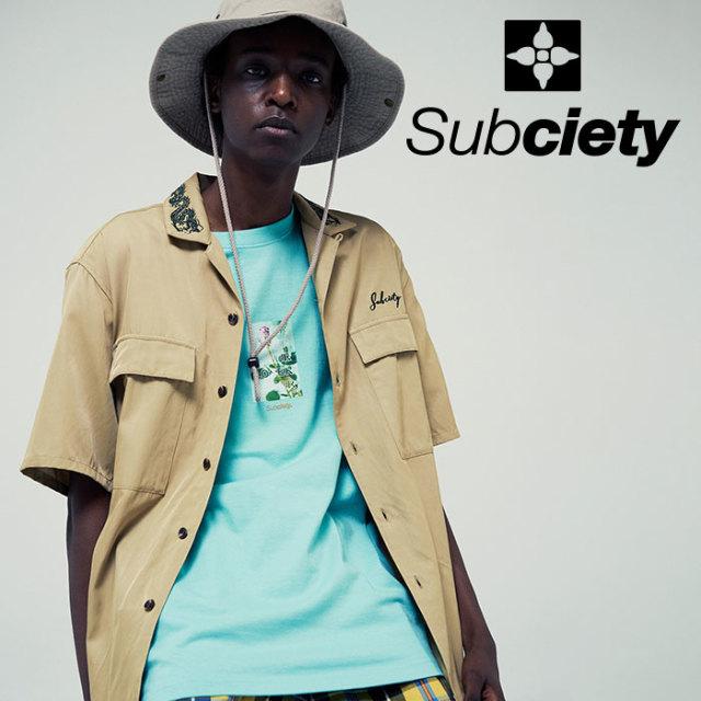 SUBCIETY(サブサエティ) LOSER S/S 【2019SUMMER先行予約】 【キャンセル不可】【109-40409】【Tシャツ】
