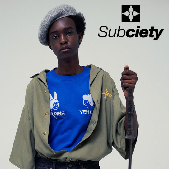 SUBCIETY(サブサエティ) SUKA SOUVENIR S/S 【2019SUMMER先行予約】 【キャンセル不可】【109-40430】【Tシャツ】
