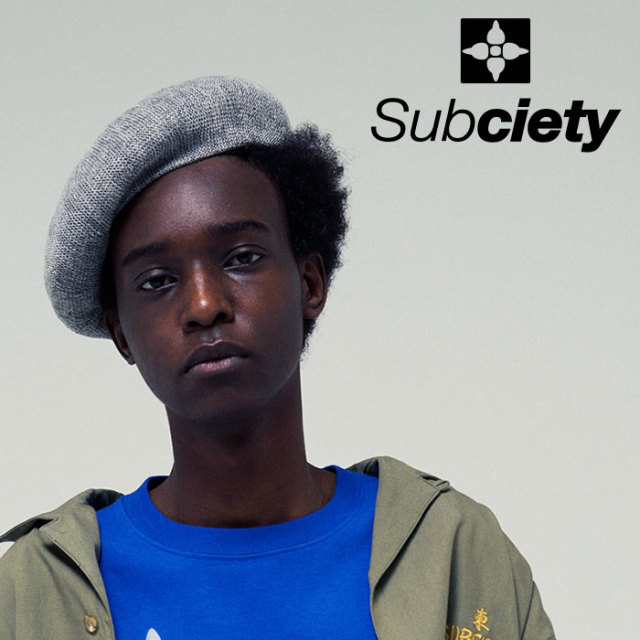 SUBCIETY(サブサエティ) LINEN BERET  【2019SUMMER先行予約】 【キャンセル不可】【109-86422】【ベレー帽】