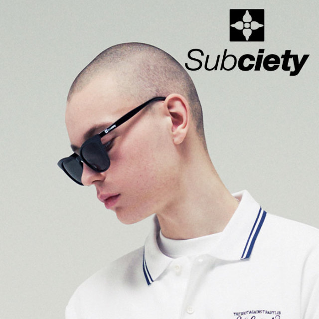 SUBCIETY(サブサエティ) SUNGLASS-Stewart-  【2019SUMMER先行予約】 【キャンセル不可】【109-87418】【サングラス】