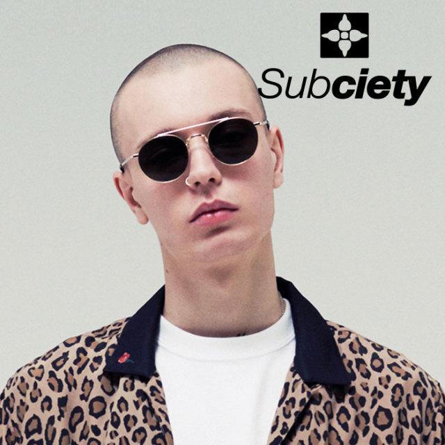 SUBCIETY(サブサエティ) SUNGLASS-Scott-  【2019SUMMER先行予約】 【キャンセル不可】【109-87424】【サングラス】