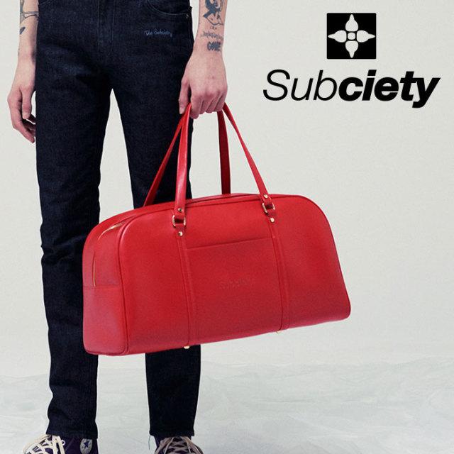 SUBCIETY(サブサエティ) BOSTON BAG 【2019SUMMER先行予約】 【キャンセル不可】【109-88426】【バッグ】