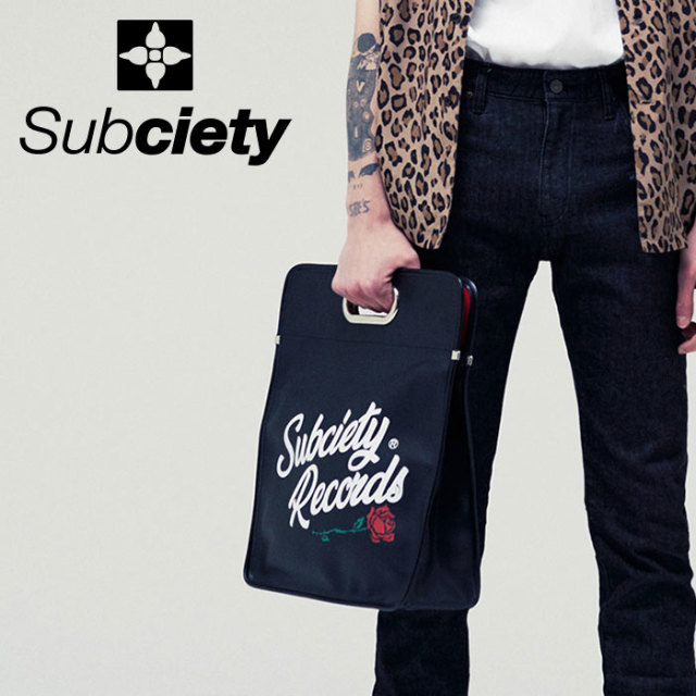SUBCIETY(サブサエティ) LP BAG 【2019SUMMER先行予約】 【キャンセル不可】【109-88427】【バッグ】