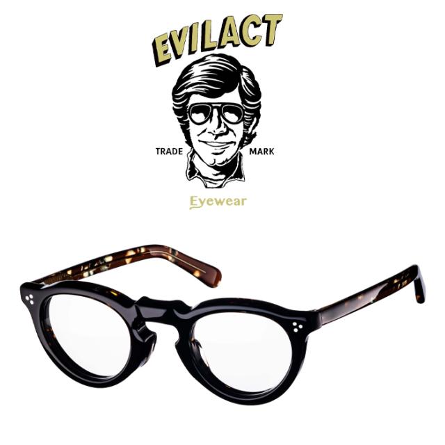 EVILACT EYEWEAR (イーブルアクトアイウエア)  GREEVES(グリーヴス)  COFFEE DEMI/COFFEE DEMI×ANTIQUE CLEAR/DIMMING LENS  【サ