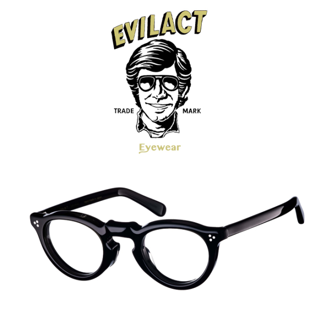 EVILACT EYEWEAR (イーブルアクトアイウエア)  GREEVES(グリーヴス)  CLEAR BLACK/DIMMING LENS  【サングラス メガネ 調光レンズ
