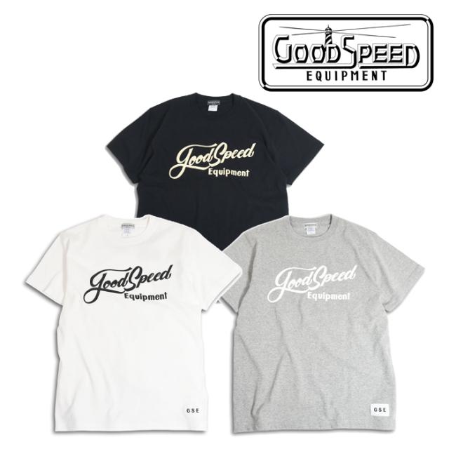 GOODSPEED equipment(グッドスピードエクイップメント) Lettering Logo S/S T's 【EVILACT】【イーブルアクト】【ショートスリーブ