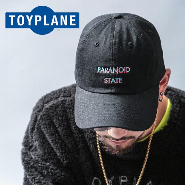 TOYPLANE(トイプレーン) PARANOID CAP 【2019 LATE FALL&WINTER先行予約】【キャンセル不可】 【TP19-FCP03】【キャップ】