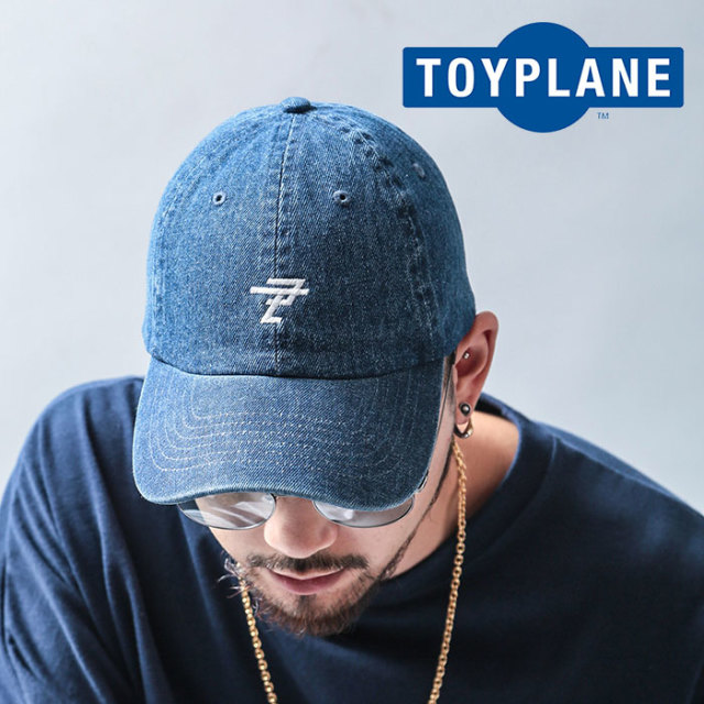 TOYPLANE(トイプレーン) DENIM CAP 【2019 LATE FALL&WINTER先行予約】【キャンセル不可】 【TP19-FCP04】【キャップ】
