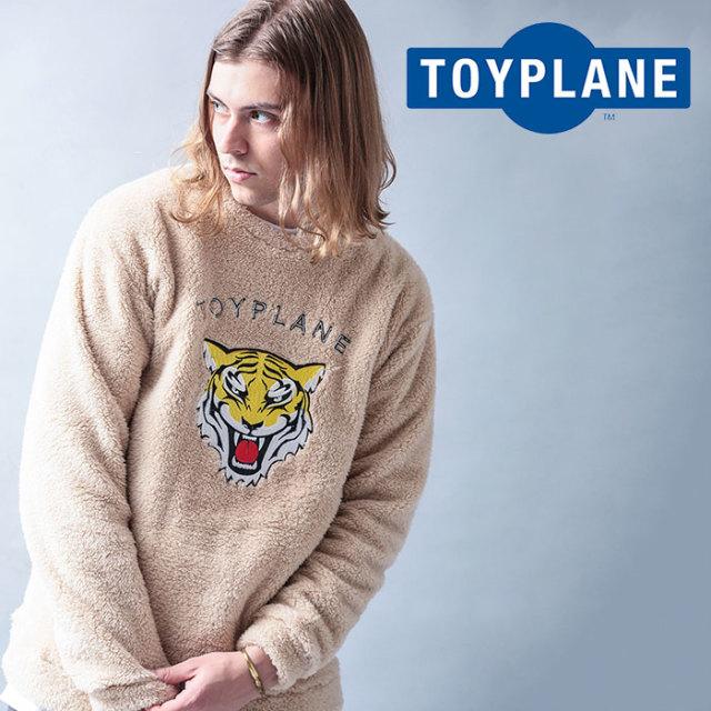 TOYPLANE(トイプレーン) TIGER BOA FLEECE CREW NECK 【2019 LATE FALL&WINTER先行予約】【キャンセル不可】 【TP19-FKN01】【ク