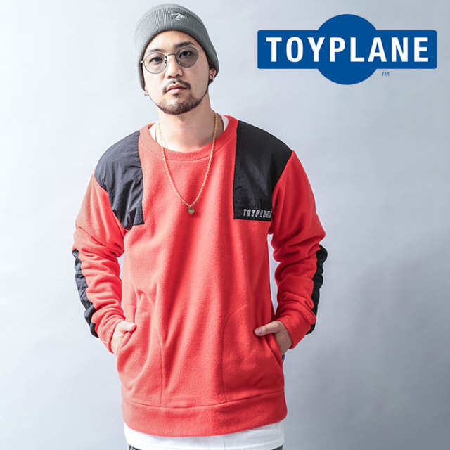 TOYPLANE(トイプレーン) FLEACE CREW NECK JACKET 【2019 LATE FALL&WINTER先行予約】【キャンセル不可】 【TP19-FKN02】【ジャケ
