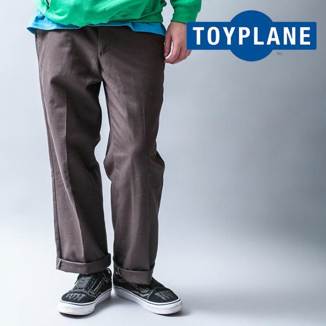 TOYPLANE(トイプレーン) WORK PANTS 【2019 LATE FALL&WINTER先行予約】【キャンセル不可】 【TP19-FPT02】【パンツ】