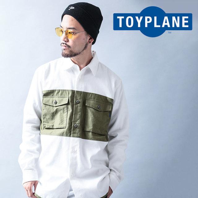 TOYPLANE(トイプレーン) MILI-TRAD SHIRT 【2019 LATE FALL&WINTER先行予約】【キャンセル不可】 【TP19-FSH01】【シャツ】