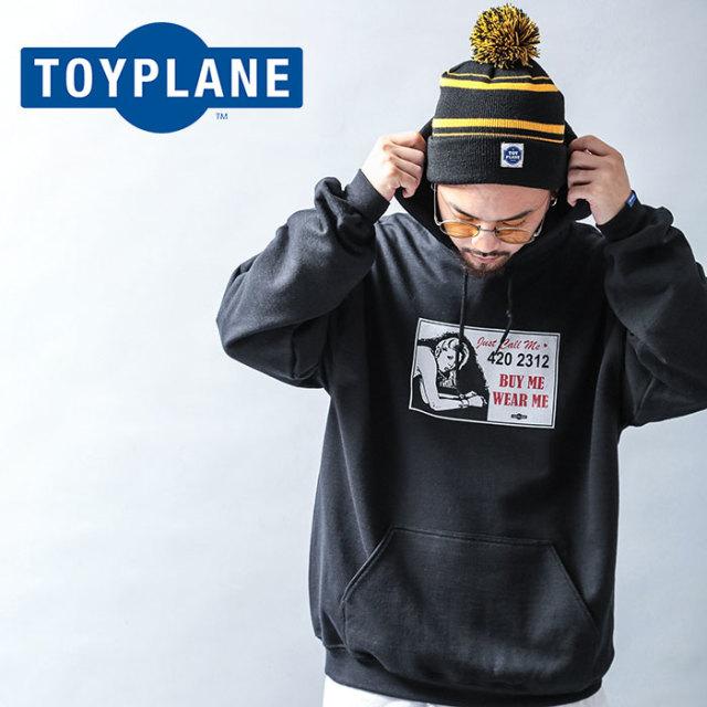 TOYPLANE(トイプレーン) LOVERS HOODIE 【2019 LATE FALL&WINTER先行予約】【キャンセル不可】 【TP19-FSW03】【パーカー】