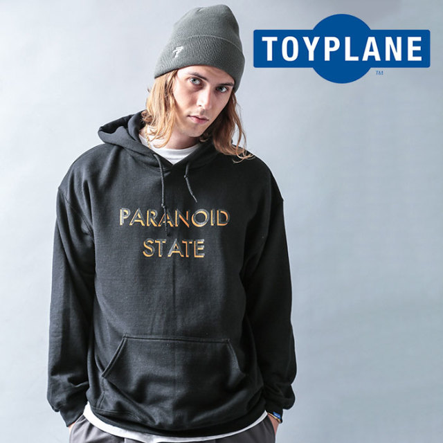 TOYPLANE(トイプレーン) PARANOID STATE HOODIE  【2019 LATE FALL&WINTER先行予約】【キャンセル不可】 【TP19-FSW04】【パーカ