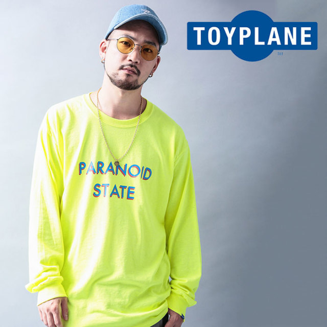 TOYPLANE(トイプレーン) L/S PARANOID STATE TEE 【2019 LATE FALL&WINTER先行予約】【キャンセル不可】 【TP19-FTE03】【ロング