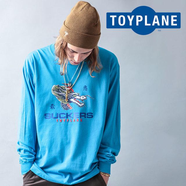 【SALE40%OFF】 TOYPLANE(トイプレーン) L/S DRAGON TEE 【ロングスリーブTシャツ】【ロンT ロンティー プリント ドラゴン】【セ