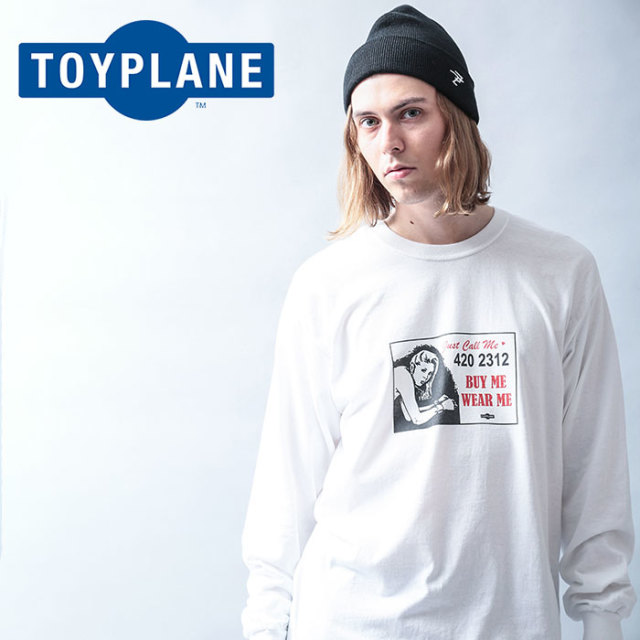 TOYPLANE(トイプレーン) L/S LOVERS TEE 【2019 LATE FALL&WINTER先行予約】【キャンセル不可】 【TP19-FTE05】【ロングスリーブT