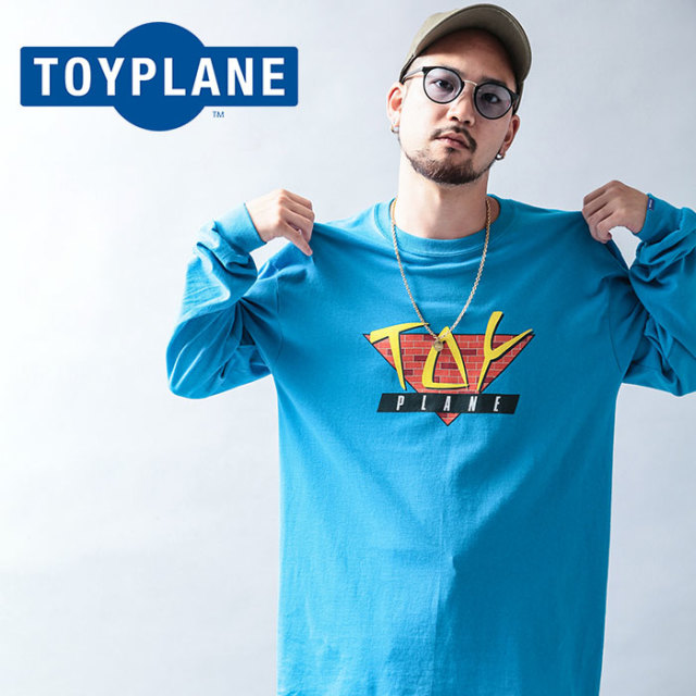 TOYPLANE(トイプレーン) L/S  FLIGHT TRIANGLE TEE 【2019 LATE FALL&WINTER先行予約】【キャンセル不可】 【TP19-FTE06】【ロン