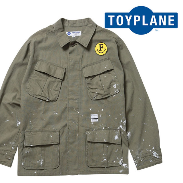 TOYPLANE(トイプレーン) L/S PEACE SHIRT JACKET 【ロングスリーブシャツ】【2020 1st 先行予約】【TP20-HSH04】【キャンセル不可