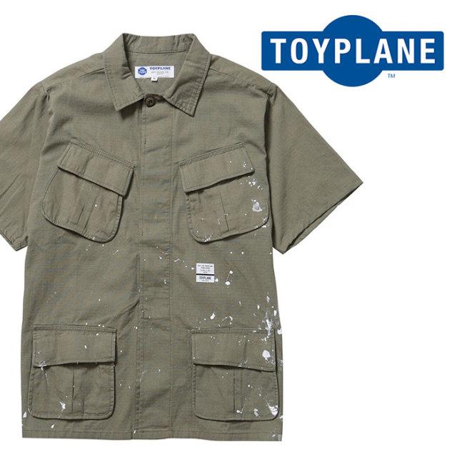 TOYPLANE(トイプレーン) S/S BDU SHIRT JACKET 【ショートスリーブシャツ】【2020 1st 先行予約】【TP20-HSH08】【キャンセル不可