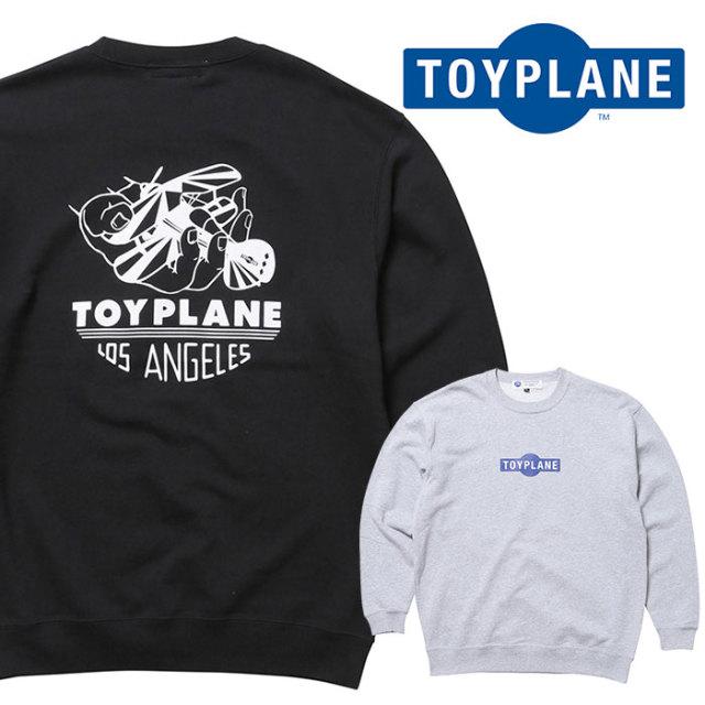 TOYPLANE(トイプレーン) AERO TEAM CREW NECK SWEAT 【スウェット】【2020 1st 先行予約】【TP20-HSW03】【キャンセル不可】